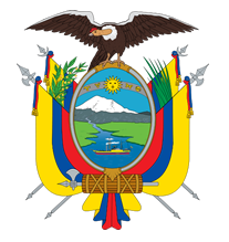 Republic of Ecuador Flag