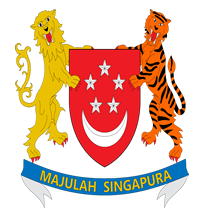 Republic of Singapore Flag