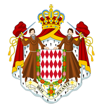 Principality of Monaco Flag