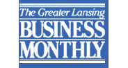 The Greater Lansing Business Monthly Logo