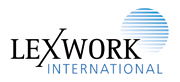 Lexwork International Logo
